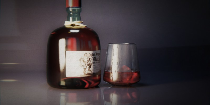 Rum Captain Morgan by Francesco Saviano