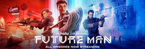 Future Man is a kick in the nuts, it's also pretty good scifi