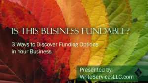 Is the Business Fundable presentation