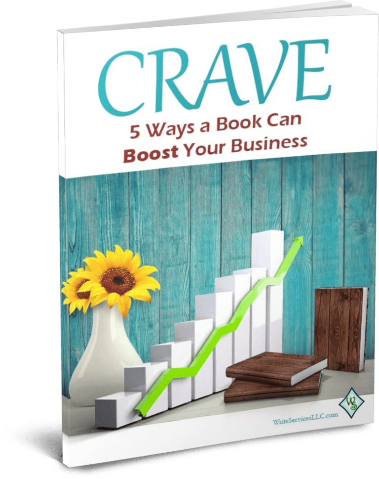 CRAVE: 5 Ways a Book Can Boost Your Business cover