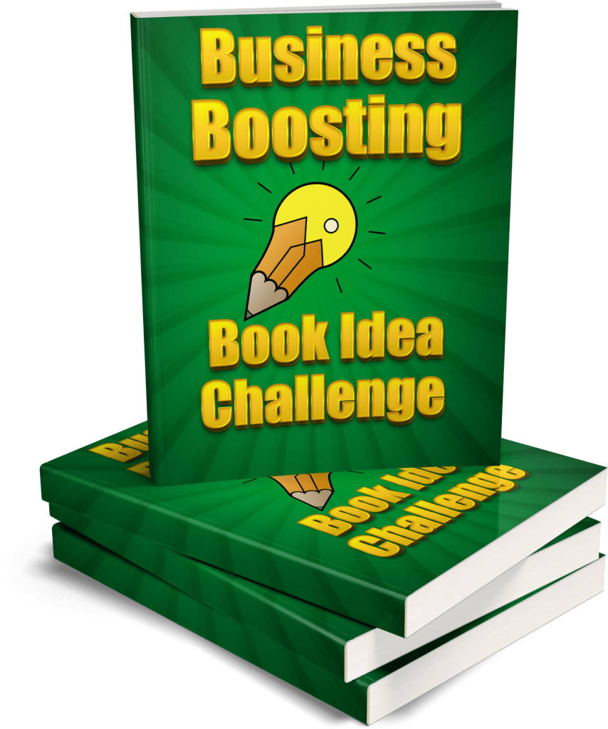 Business boosting book idea challenge