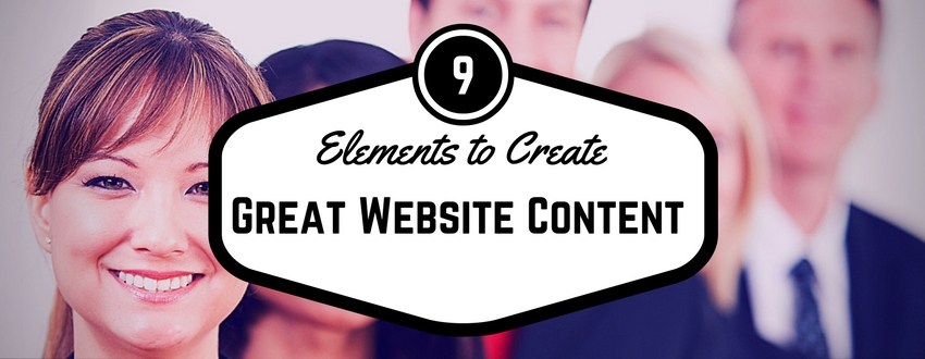 website content writing samples