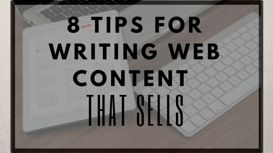 step for website content writer