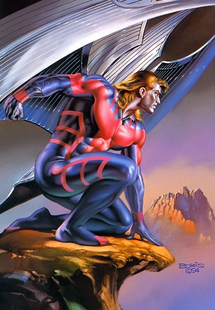 Archangel Marvel Comics X Men X Factor Metal Wings