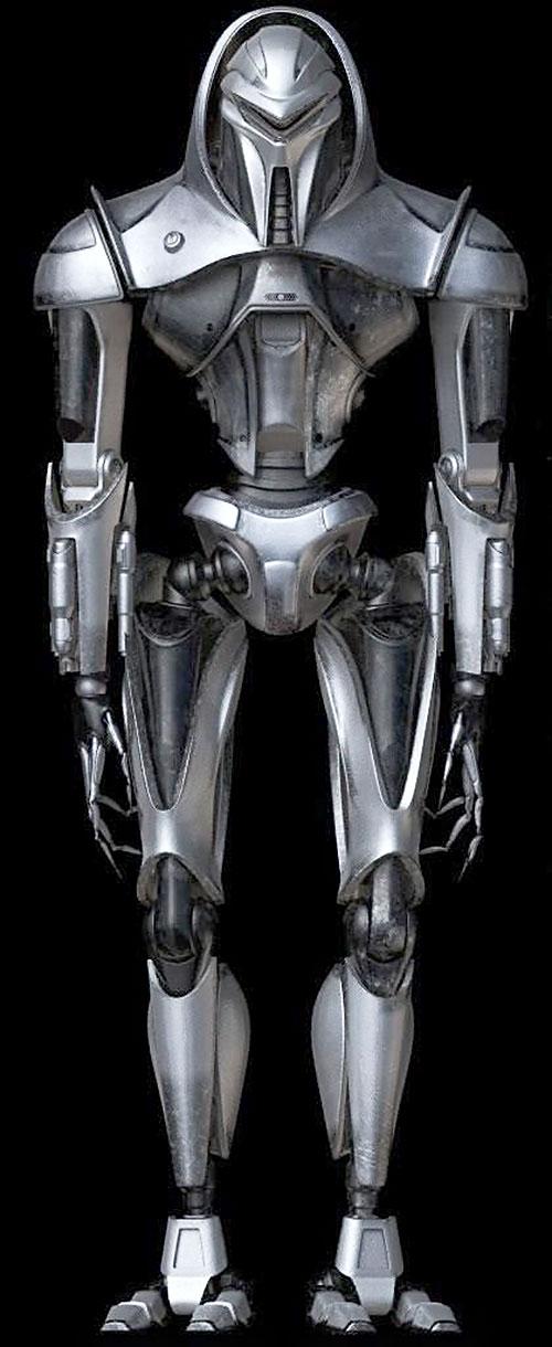 Generic Cylon Centurion Battlestar Galactica Character Profile