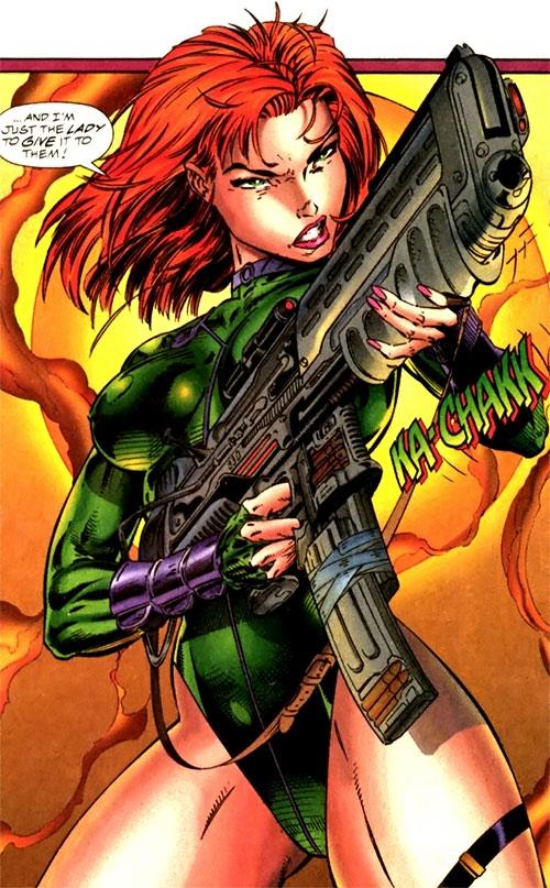 Fairchild - Wildstorm - Image Comics - Gen13 - Character ...