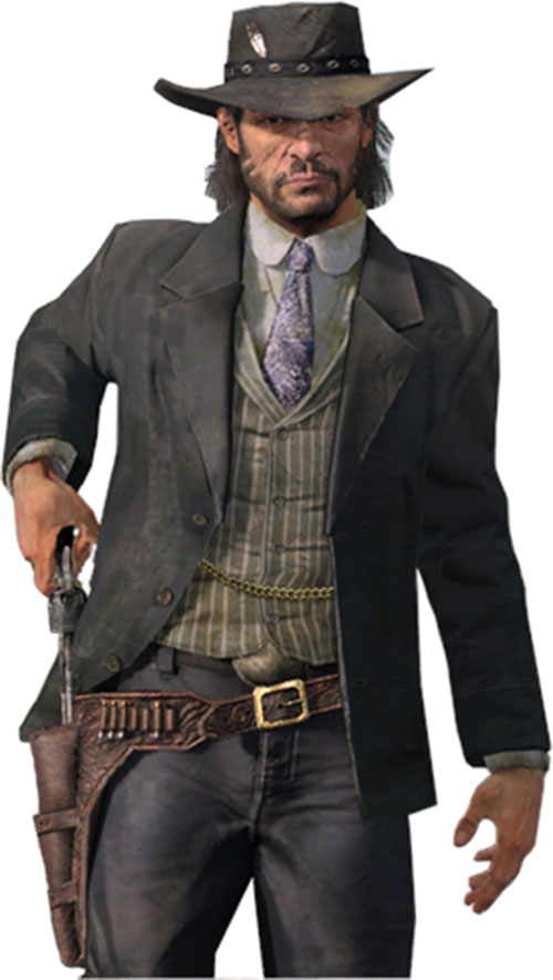 John Marston Red Dead Redemption Character Profile