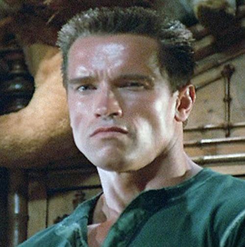 Commando Arnold Schwarzenegger John Matrix Character