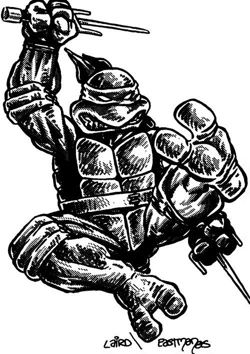 Raphael Teenage Mutant Ninja Turtles Early