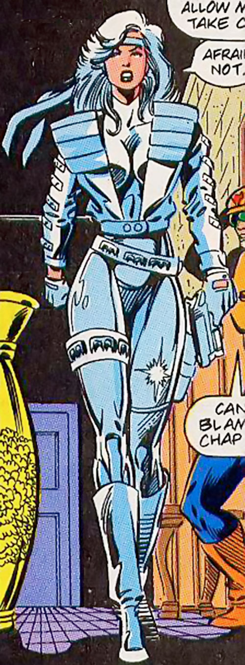 Silver Sable Marvel Comics Character Profile 1980s