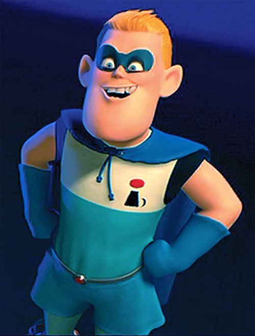 Powers And Incredibles Characters