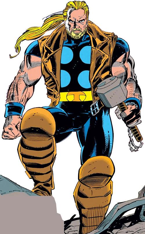 Thunderstrike - Marvel Comics - Thor | Avengers ally - Profile ...