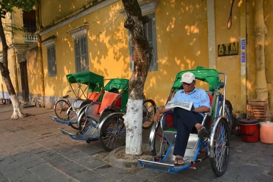 Cyclo, Hoi An, Vietnam