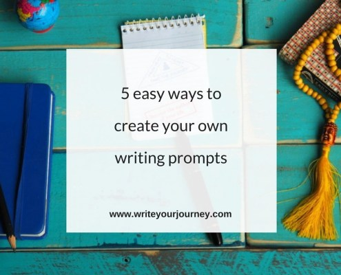 5 easy ways to create your own writing prompts