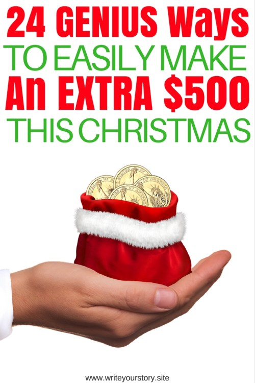 make extra money this christmas