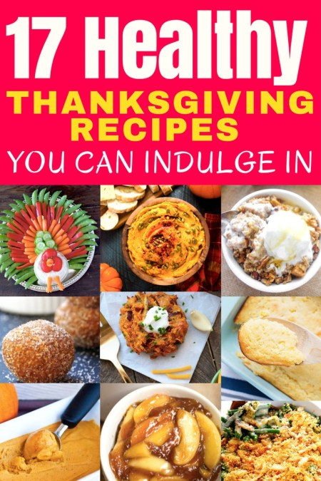 FINALLY! Healthy Thanksgiving recipes you can enjoy without feeling guilty or ruining your diet! These recipes will satisfy any Thanksgiving craving you have without making you pop the top button off your pants or giving you serious food regret. DIG IN!
