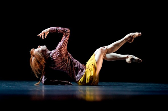Sylvie Guillem in Mats Ek's Bye. Photo Lesley Leslie-Spinks