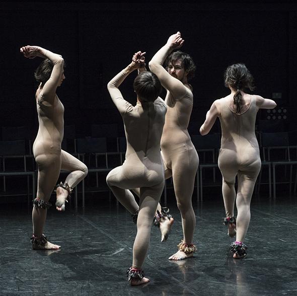 Eveline Van Bauwel, Cecilia Lisa Eliceche, Michael Helland and Manon Santkin in Unison (photo: