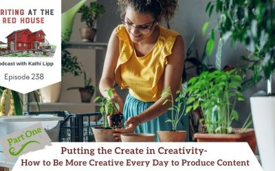 238 Putting the Create in Creativity – How to Be More Creative Every Day to Produce Content – Part 1