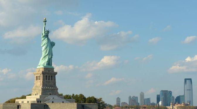 The Statue of Liberty, Trump, Georges Perec