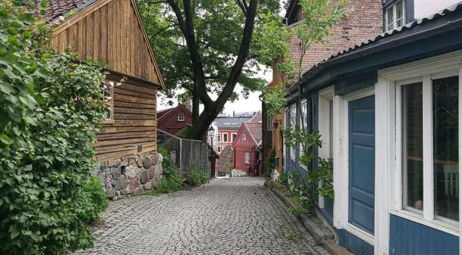 Oslo's Old Wooden Houses