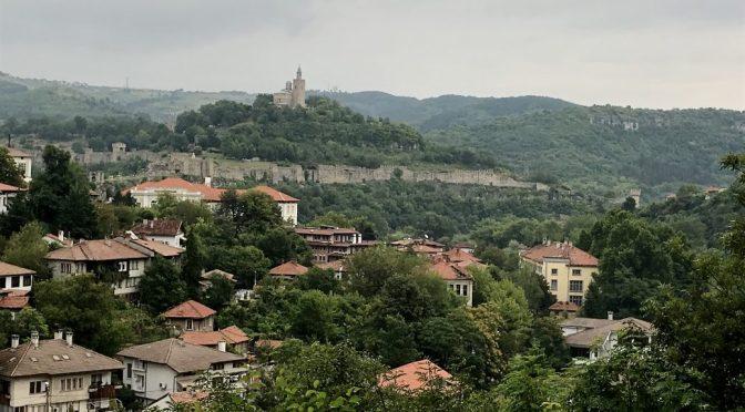 Walking Tsarevets Fortress (Царевец)