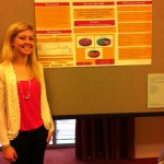 Mary Kate Hinshaw at CCCC 2012 Undergraduate Researcher Poster Session