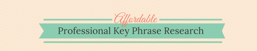 Affordable Key Phrase Research