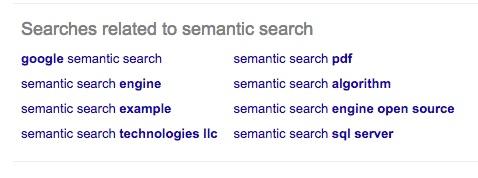 Semantic search 2
