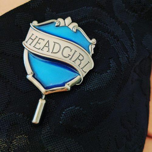 Head girl Ravenclaw badge