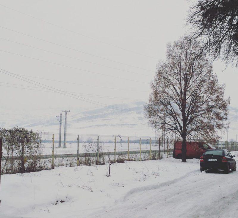 Visiting Romania -Snowy Landscape