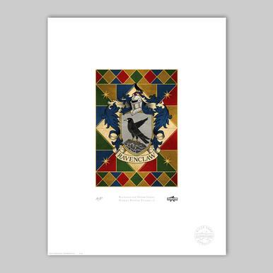Ravenclaw House Crest Print