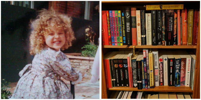 Bookworm, childhood