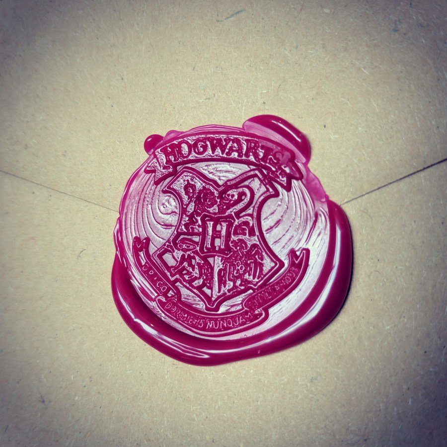 Homemade Hogwarts Letters Harry Potter Party Inspiration Invites Hogwarts Wax Seal