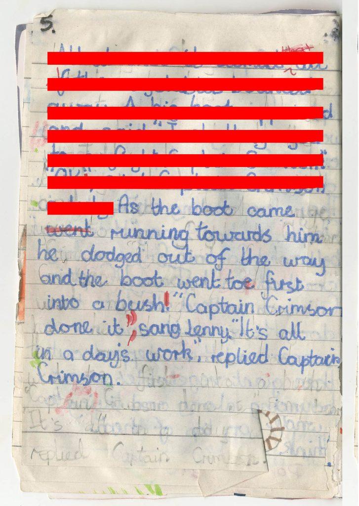 Extract Four Captain Crimson