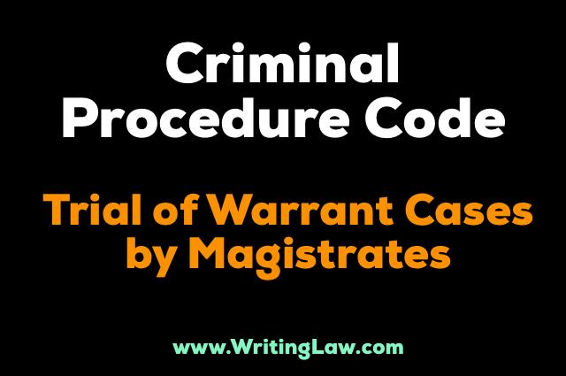 warrant trial