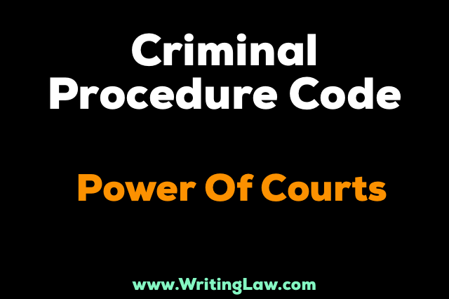 Crpc powers of court