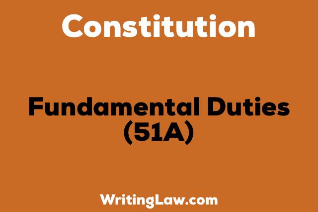 fundamental duties in constitution