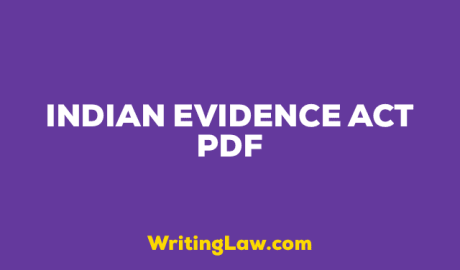 Indian Evidence Act PDF