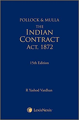 Contract Act by Pollock and Mulla