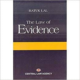 Evidence Act by Batuk lal