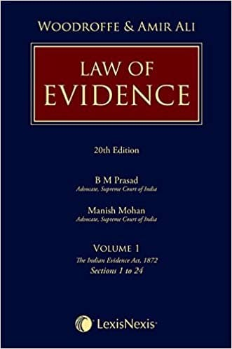 Evidence Act by Woodroffe and Amir Ali