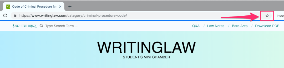 WritingLaw on Chrome