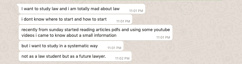 Ways to study law to become a lawyer