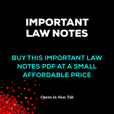 51 Law Notes PDF Purchase