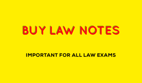 Law Notes for CLAT PDF