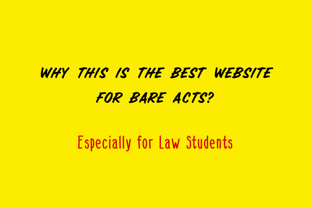 Best Bare Act Website