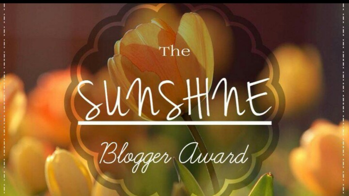 Sunshine Blogger Award 🏆