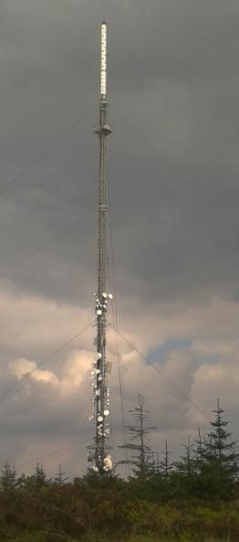 Cairn Hill Mast - Broadcasting RTE across the North Leinster - South Ulster area