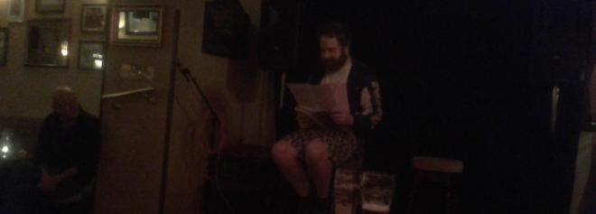 Saul Philblin Bowman reading at  Scene of the Rhyme